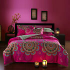 100% Combed Cotton Duvet Cover Set Queen King Made In Canada  #1603