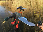New 2017 Motorised Duck Decoy Spinning Wings Remote Control Mallard Shooting