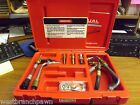 Snap-On Tools Domestic Fuel Injection Adaptor Set with Case MT3350