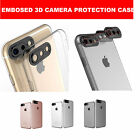 Rear Camera Lens Protector TPU Clear Case Cover Pouch For iPhone 6S / 6S Plus