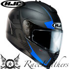 HJC IS-17 MISSION BLACK BLUE FULL FACE MOTORCYCLE MOTORBIKE BIKE HELMET