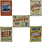 Vintage,Retro look, Canvas with wood frame Sign, Advertising