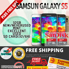 NEW & USED SAMSUNG GALAXY S5 4G 32GB LTE UNLOCKED ANDROID SMARTPHONE