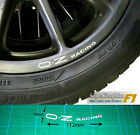 Wheel Rim Decal sticker to fit OZ Racing curved up from the bottom of rim X1