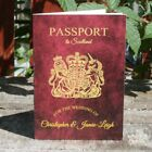 Personalised 8 Page Passport  Wedding Invitation - Any Destination Abroad