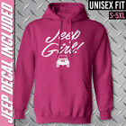 Jeep Girl Hooded Sweatshirt /// Hot Pink Hoodie // S-5XL /// 4x4 /// Off Road