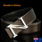 New Quality Genuine Leather Mens Black/Brown Belts