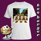 Star Wars Funny Stormtrooper Abbey Road Retro Vintage Mens Cotton  White T-shirt $25.99 AUD