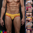 Sexy Mens Mesh Jockstrap Underwear Shorts Briefs Low Rise Underpants Bikinis New