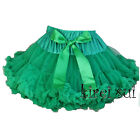 Christmas Kelly Green Pettiskirt Party Pageant Tutu 1-7Y WZ3A