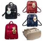 Fashion Women Girl PU Leather Backpack Rucksack Travel Satchel Shoulder Bag Tote