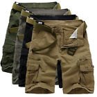 Men' Summer Beach Baggy Sports Shorts Short Pants Casual Cargo Combat Trousers ;