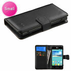 Universal MyJacket Wallet Slim Flap Case Card Slots Black For Mobile Phones