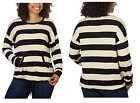 NEW Ladies' Kensie French Terry Crew Neck Pullover - L / XL / XXL
