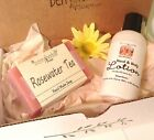 Herbal SOAP & BODY GIFT SET~Sea Buckthorn/Tamanu Nut Oils--FREE U.S. S&H