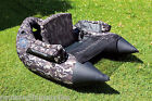 XX Large Camo Pattern Belly Boat( kick boat, float tube) for game,trout fishing