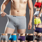 Men Men's Boxer Briefs Underwear Trunks Shorts Bulge Pouch Underpants Trunks