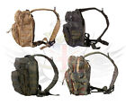 MINI MOLLE RECON SHOULDER 10L RUCKSACK TAN,GREEN,BLACK,MULTICAM,DPM,BTP,UTP