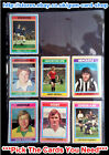 ☆ Topps 1976 Football Blue/Grey Cards 217 to 270 (F) *Please Select Cards*