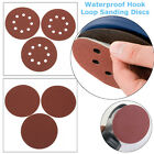 "New 10Pcs 5""/6"" Waterproof Hook And Loop Sanding Discs 1500/2000 Grit - Autobody"