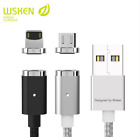 WSKEN Mini 2 Lighting Micro USB Type-C Magnetic Charge Cable For iPhone Samsung