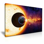 SPACE Sun Earth Planets Canvas Wall Art Picture Print ~ More Size