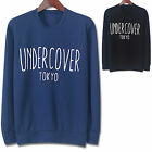 Mens UNDERCOVER TOKYO Crewneck Round Neck Sweater Shirts Long Sleeve Jumper W020