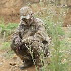 Men Outdoor Bionic Camouflage Suit Set Jacket+Pants  Hunting Fishing Paintball