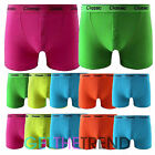 12xPack Mens Classic Boxers Shorts Underpants Briefs Rich Neon Underwear Adults