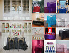 Many Color And Size Rectangle Tablecloth Rectangular for Wedding/Dessert Table