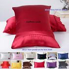 1pc 22Momme 100% Pure Silk Pillow Case Cover US Popular Style