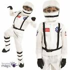 Childs Kids Space Boy Man Suit NASA Astronaut Fancy Dress Costume Outfit Helmet