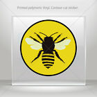 Sticker Decal Bee Car Window Motorbikes Boat polymeric vinyl st5 W95WW