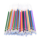 Flash Gel Pen Refill Colors Full Shinning Refill Kids Drawing Offices Stationery