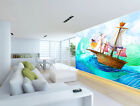3D ship Wizard sea Wall Paper Wall Print Decal Wall Deco Indoor wall Mural Home