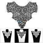 1pc Applique Lace Fabric Sewing Embellishments Trims Nice DIY Neck Collar Crafts
