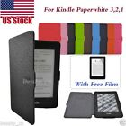 Magnetic Leather Case Smart Cover For Amazon Kindle Paperwhite 2016 Sleep/Wake