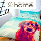Catherine Lansfield Home Its A Dogs Life Duvet Quilt Cover Bed Linen Bedding Set