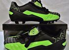 Soccer Cleats Youth siza 4.5 NIB XARA Futura Flo Green  Black #9502