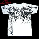 Tapout - Classic White MMA Fighter Wear T-Shirt  (New Soft Lightweight Material)