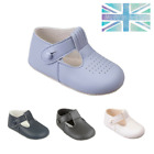 Baby Shoes Boys Traditional Pram T Bar EARLY DAYS BAYPODS - Christening Wedding