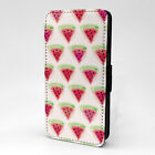 Watermelon Print Design Pattern Flip Case Cover For Apple iPhone - P1224