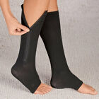 Zippered Compression Socks Support Stockings Leg Calf Men's Women's Sox (S-XXL) <br/> 2 Colors!! Free Shipping!!  Brand New XXL Size!!!