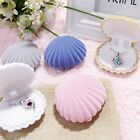 Shell Shape Velvet Display Gift Box Jewelry Case For Necklace Earrings Ring