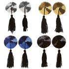 Women lady Sexy Lingerie Sequin Tassel Breast Bra Nipple Cover Pasties Stickers