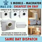 Macerator shower basin toilet wc bath sink washing sanitary waste bathroom pump
