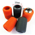 Autoclavable Soft SILICON GRIP COVERS Orange & Grey Tattoo Grip Supply Equipment