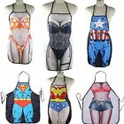 1PC Kitchen Party Cheeky Cooking Multicolor Naked Sexy Cartoon Apron Rude Men