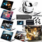 "4in1 Car Painted Rubberized Hard Case Cover For Macbook Pro Air 11"" 13"" 15 Touch"
