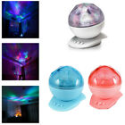 LED Night Light Color Changing Aurora Projector For Wedding Party Bedroom Decor